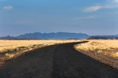Road in Sossusvlei, Namibia Stock Image