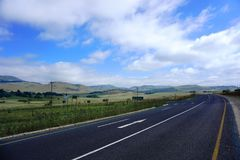 Road in SouthAfrica Stock Image