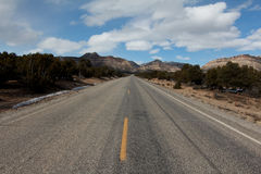 Road in Southern Utah Royalty Free Stock Photos