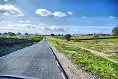 Road in Spain Royalty Free Stock Photography