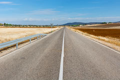 Road in Spain Stock Photography