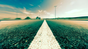 Road and speed background Royalty Free Stock Photos