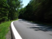 Road, Speed, Secondary Road Royalty Free Stock Images