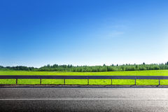 Road of spring grass Royalty Free Stock Photos