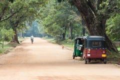 Road on Sri Lanka Stock Image