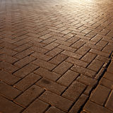 Road stone. Night time background Royalty Free Stock Photo