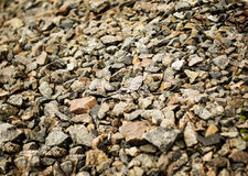 Road stone gravel texture to background. For your Stock Images