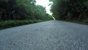 Road with stones stock footage
