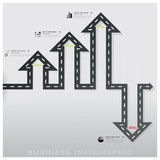 Road And Street Traffic Sign Business Infographic Design Templat. Road And Street Traffic Sign Business Infographic Background Design Template Stock Images