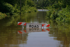 Road Submerged Stock Images
