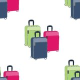 Road suitcase Royalty Free Stock Photography