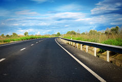 Road in summer. Royalty Free Stock Images