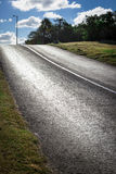 Road on a sunny day Royalty Free Stock Photography