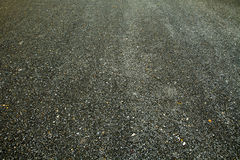Road surface black rock, stones Stock Images