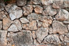 Road surface made of natural stone stock images