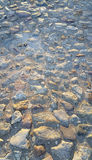 Road surface paved with rough stones Royalty Free Stock Photography