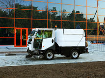 Road sweeper Stock Image