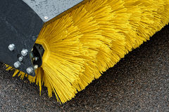 Road Sweeper. Royalty Free Stock Images