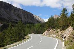 Road in Switzerland stock images