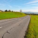 Road in Switzerland Royalty Free Stock Image