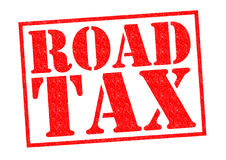 ROAD TAX Stock Photography