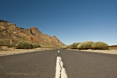 Road in Tenerife Stock Photography