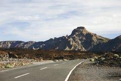 Road on Tenerife island Stock Photos