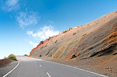 Road on Tenerife island, Spain Stock Photos