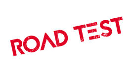 Road Test rubber stamp Royalty Free Stock Photo