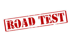Road test Stock Images