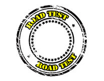 Road test Royalty Free Stock Image