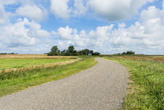 Road on Texel royalty free stock image