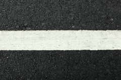 White line on the road texture Stock Photo
