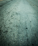 Road of texture background Stock Image