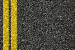 Free Road Texture With Lines Royalty Free Stock Photography - 9737377
