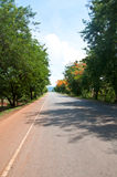 Road in Thailand Royalty Free Stock Images