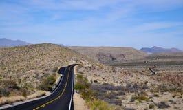 Road thjough Big band national park Royalty Free Stock Photography