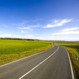 Road Through Countryside Stock Photo