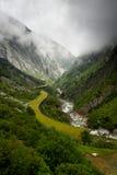 Road Through Mountains Stock Photos