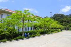 Road of tianzhu resorts hotel Royalty Free Stock Photos