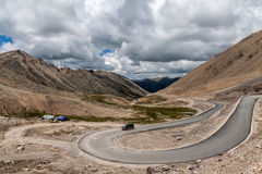 Road on the Tibet plateau stock photos