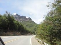 Road of tierra del fuego Stock Image