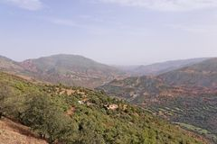 Road Tizi-n-Tichka Morocco Royalty Free Stock Photo