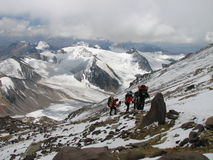 Road to Aconcagua Royalty Free Stock Photography