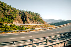 The road to the Aegean Sea. Royalty Free Stock Images