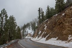 Road to Angeles Crest NationalForest. 