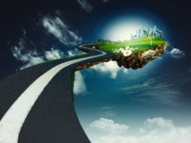 Road to another world Royalty Free Stock Photo