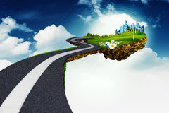 Road to another world Stock Photos