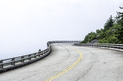 Road to anywhere. Travel destination to anywhere on this beautiful scenic mountain road Royalty Free Stock Images