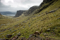 Road to Applecross Royalty Free Stock Photography